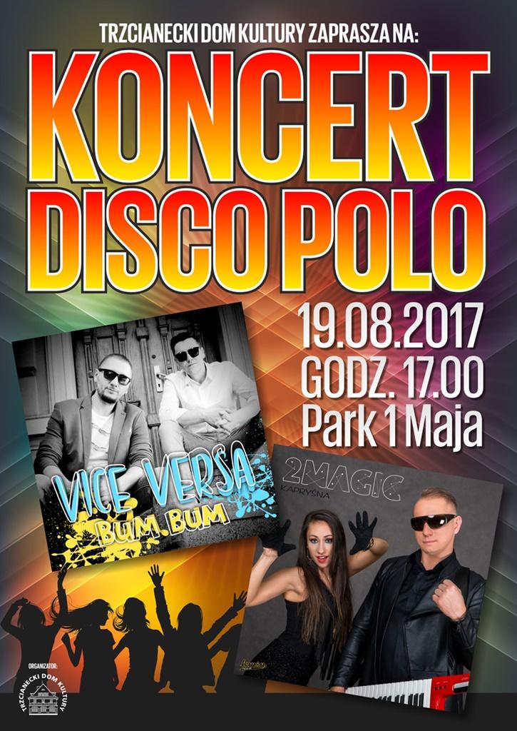Koncert Disco Polo w Trzciance