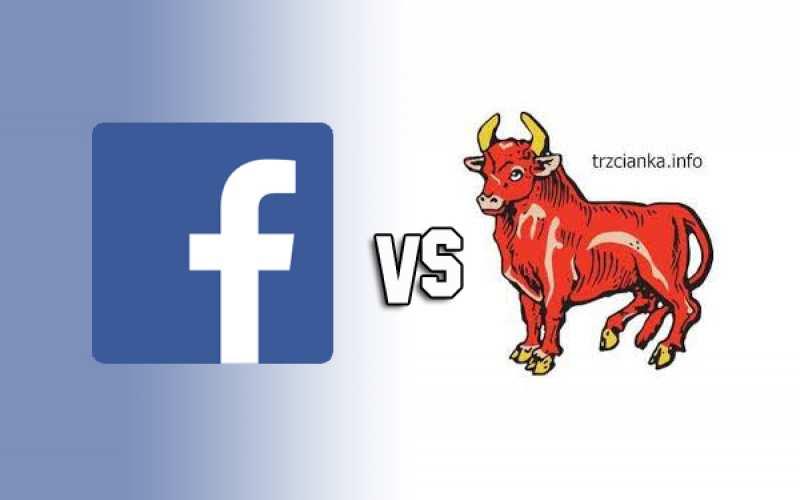 Facebook vs Trzcianka.info