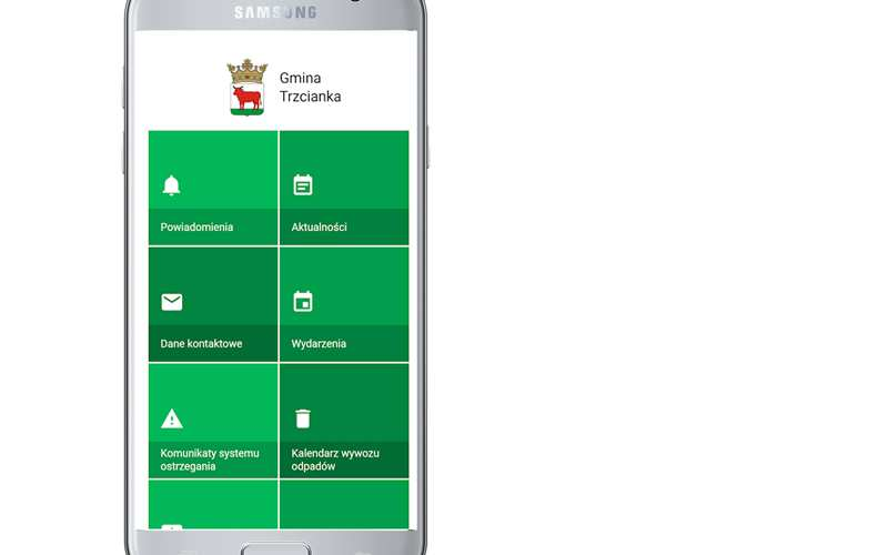 aplikacjana telefon Trzcianka