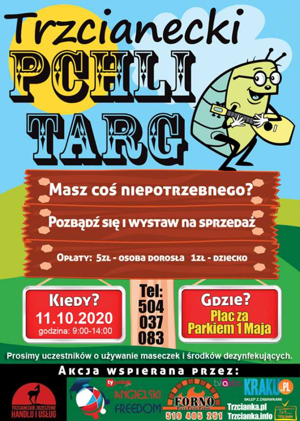 Trzcianecki Pchli Targ - 11 października 2020r.