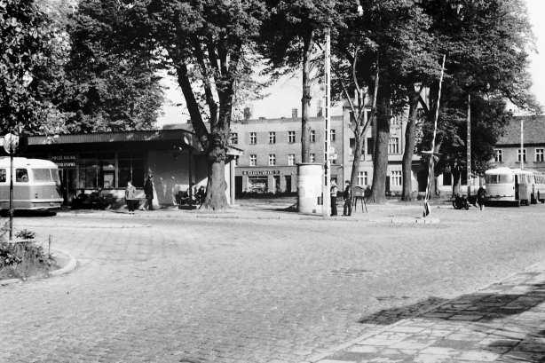 Dworzec autobusowy lata 70-te