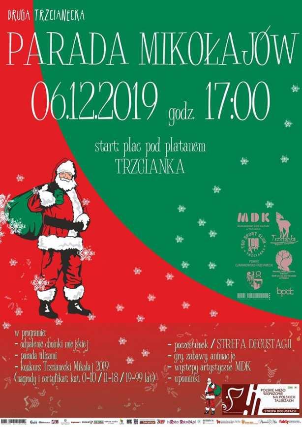 II Parada Mikołajów w Trzciance