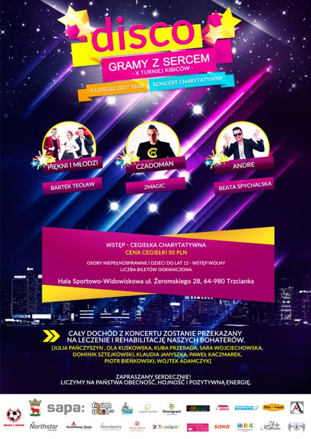 Gramy z Sercem 2017 Koncert Disco