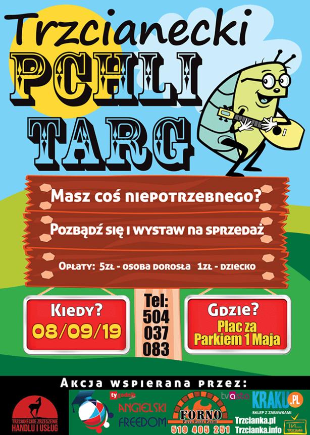 Trzcianecki pchli targ - Wrzesień 2019