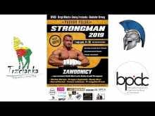 Embedded thumbnail for Puchar Polski Strongman Trzcianka 2019