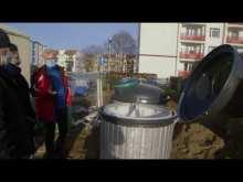 Embedded thumbnail for Półpodziemne pojemniki w Trzciance
